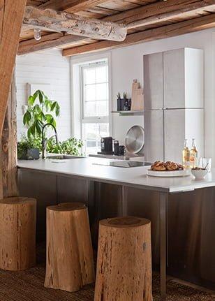 Kjøkkenøy på Krosser Høyloftet konferansegård